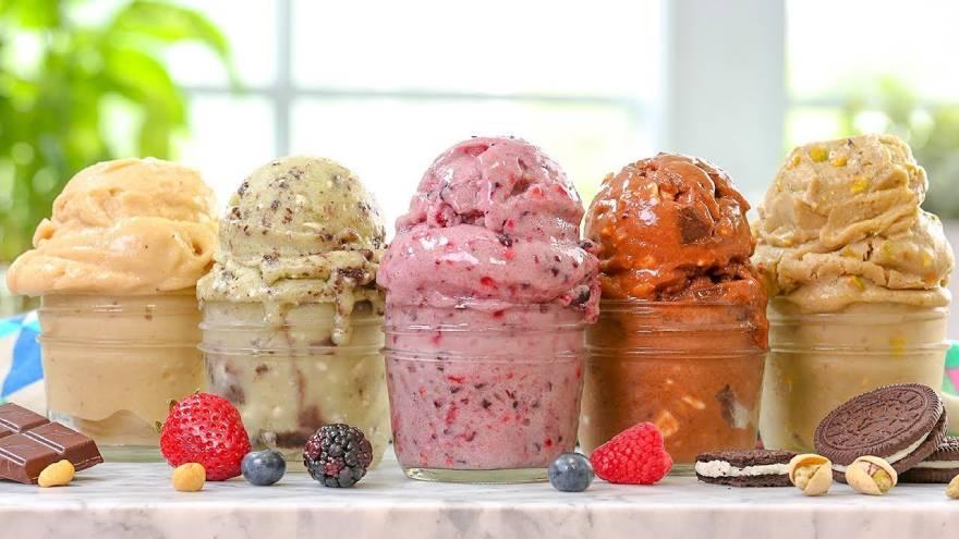 El helado vegano también tiene azúcar y otos componentes poco saludables