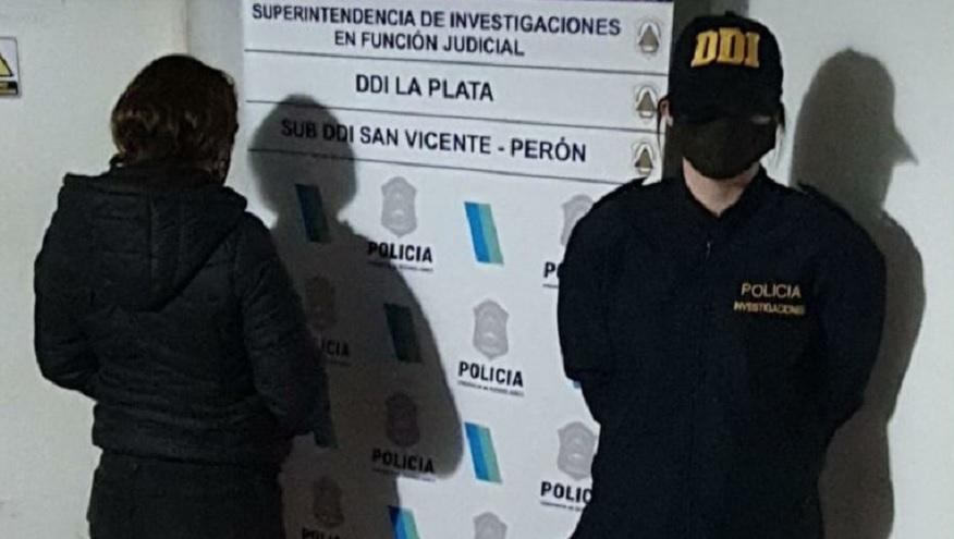 Una mujer fue detenida por la Sub DDI de San Vicente-Perón