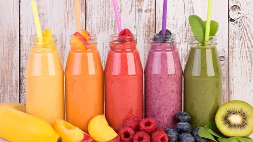 Los jugos pueden contener grandes cantidades de azúcar