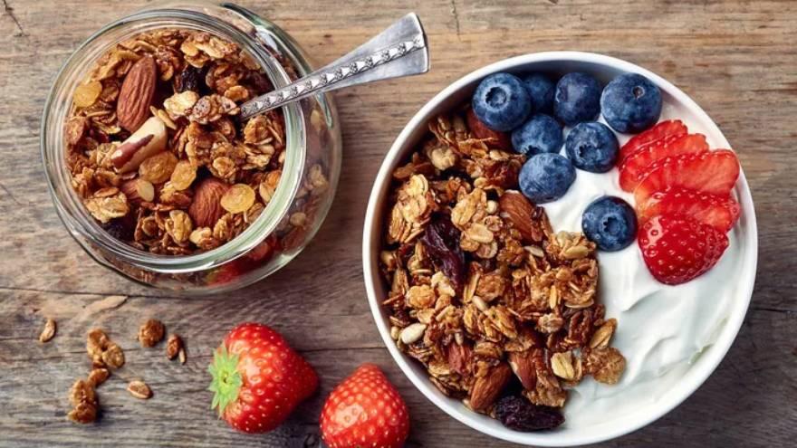 Los bowls de cereales, o muesli, se suelen consumir en el desayuno o merienda
