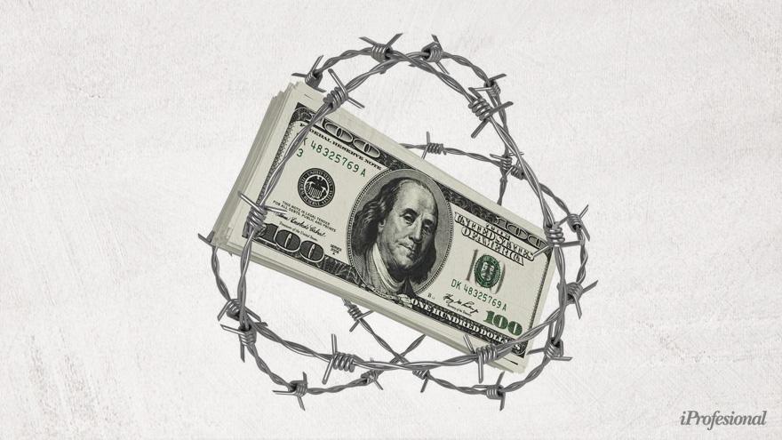 El cepo al dólar, un problema para lograr nuevas inversiones en la Argentina.