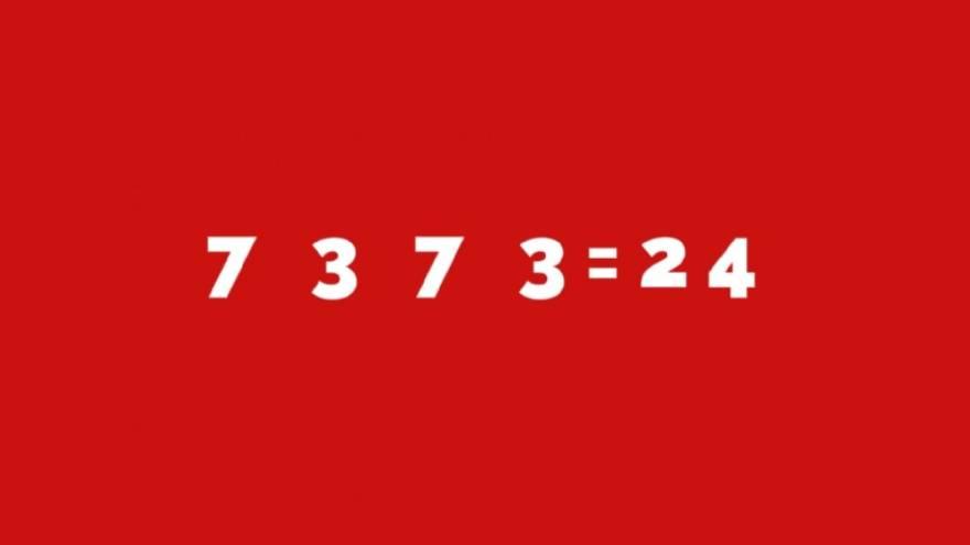 Esta es la cuenta que hay que resolver y encontrar los signos correctos