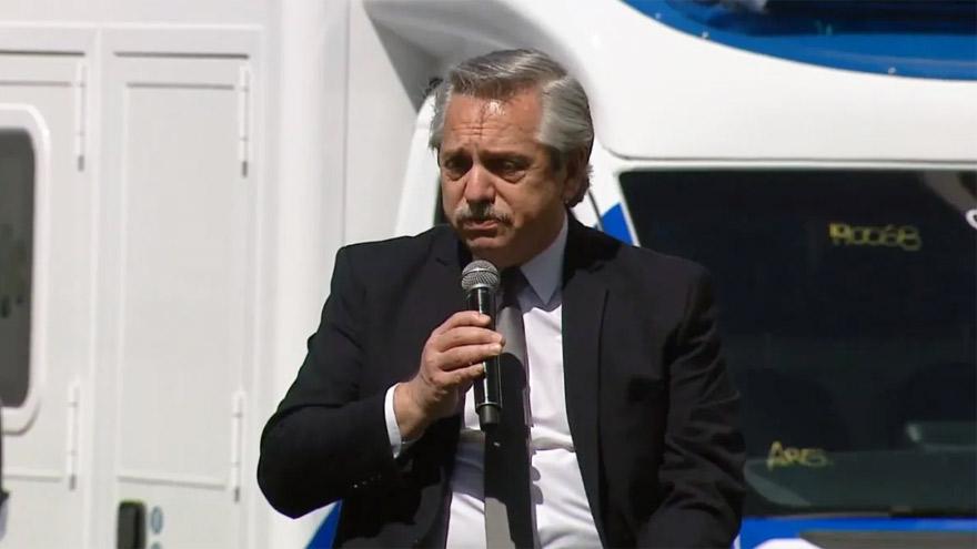 Alberto Fernández pidió más esfuerzo contra la pandemia.