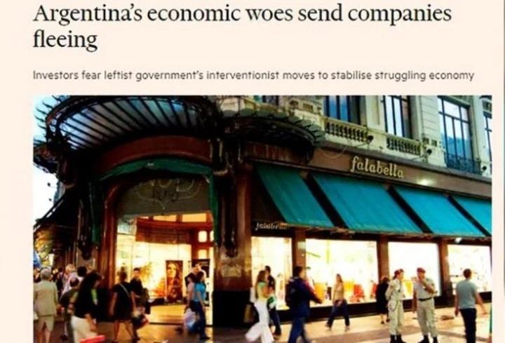 Por qué se van de Argentina las empresas