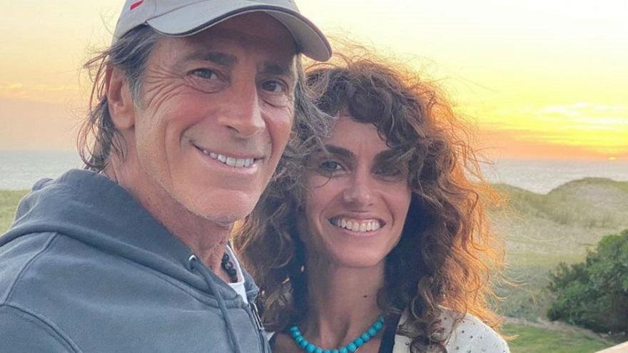 Nicolás Repetto y Florencia Raggi, en Uruguay.
