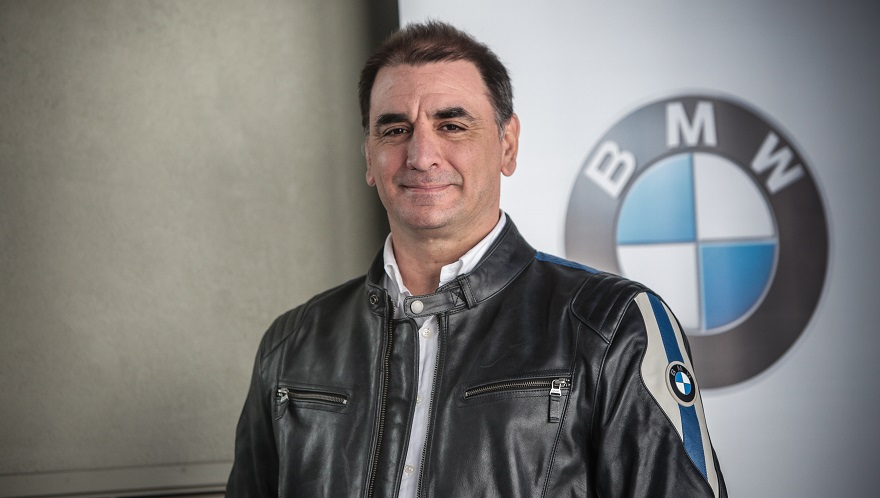 Sebastián Centeno, número 1 de BMW Motorrad.