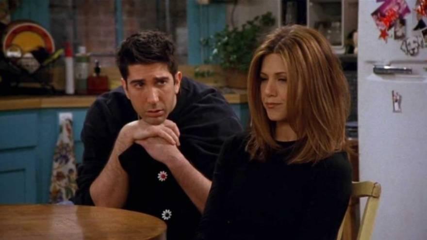 Ross y Rachel, el día que se separaron