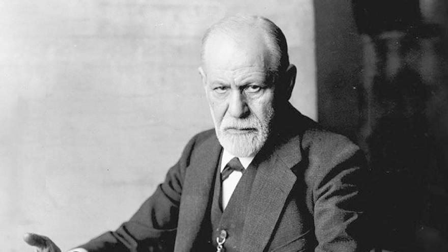 Esta es una de las fotos más populares de Sigmund Freud