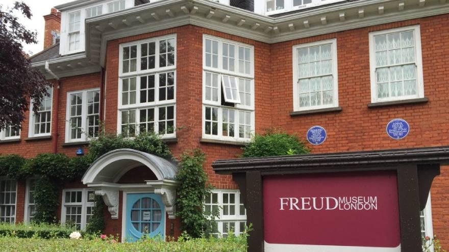 Esta es la casa donde Freud vivió en la ciudad de Londres