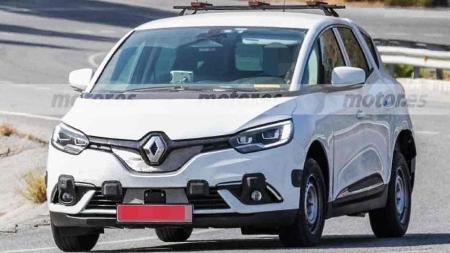 Nuevo Renault de siete asientos.