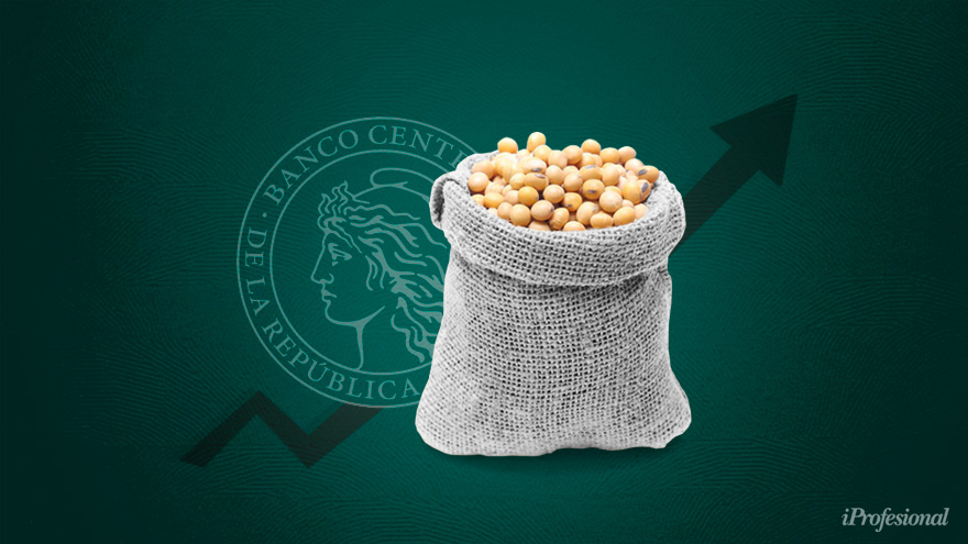 en marzo. Con la llegada del otoño, los productores y las cerealeras deberían empezar a volcar las divisas de la nueva cosecha.