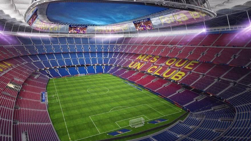 El estadio del Barcelona es un símbolo de la Ciudad Condal.