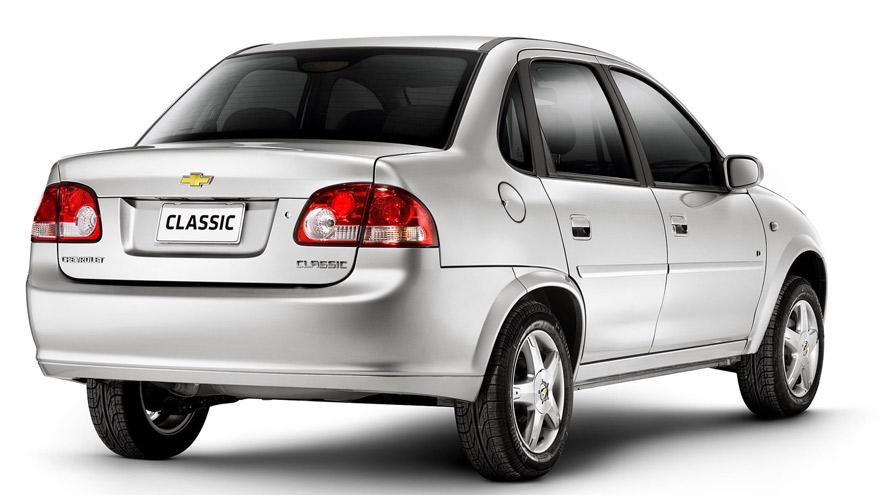 Chevrolet Classic sedán: serio problema con el airbag.