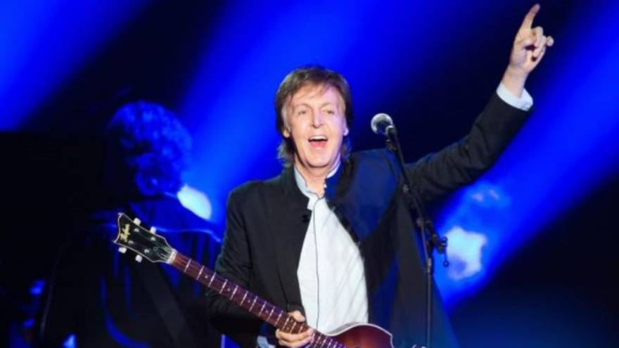 Fuera de los Beatles Paul McCartney ha tenido un gran éxito