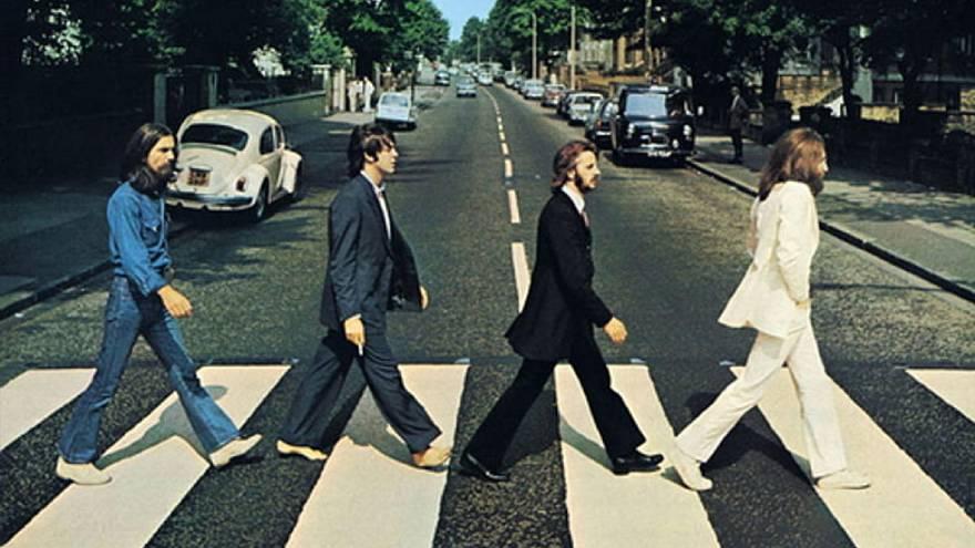La clásica foto de la banda, que millones de personas reprodujeron