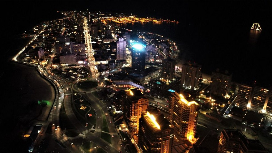 Punta del Este, lugar elegido por muchos argentinos para residir.