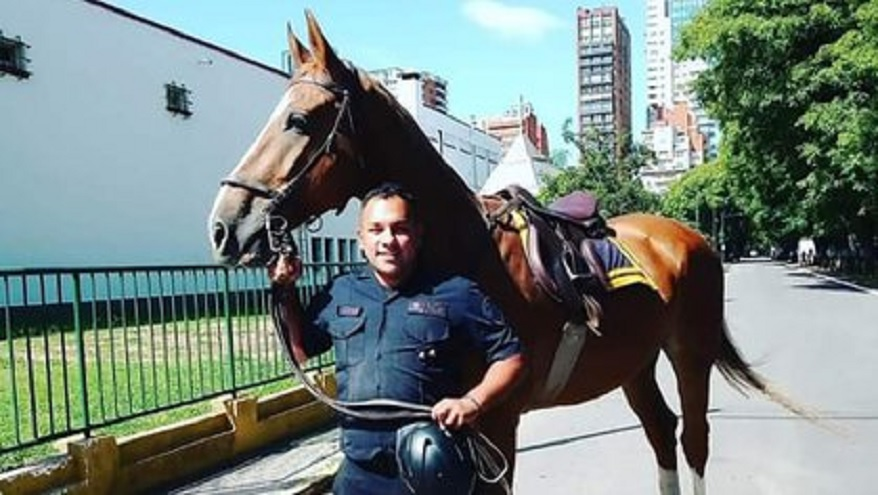Duelo nacional por la muerte del policía Juan Pablo Roldán