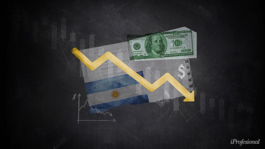 Los nuevos bonos en dólares del canje de deuda sufrieron fuertes caídas en sus cotizaciones.