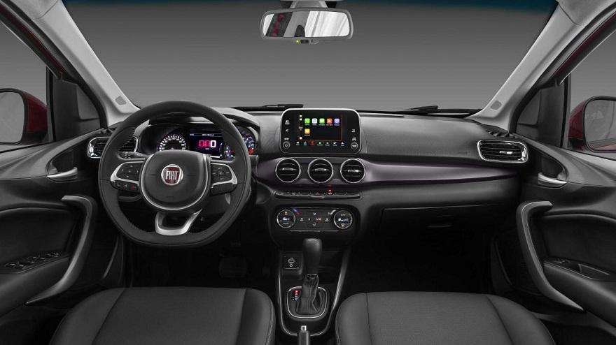 Fiat Cronos, con conectividad y tecnología.