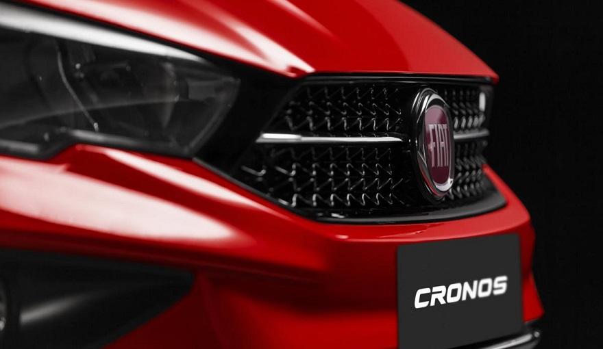 Fiat Cronos adopatará la misma parrilla de Strada.