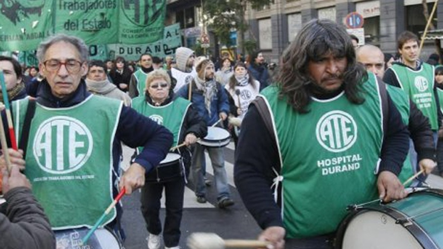 ATE anunció paro nacional y movilización para el 6 de octubre