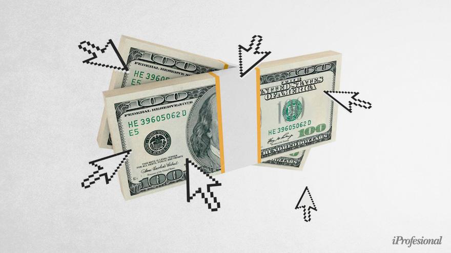 Al presentar billetes de 100 dólares viejos los ahorristas reciben descuentos de 2 a 5 pesos