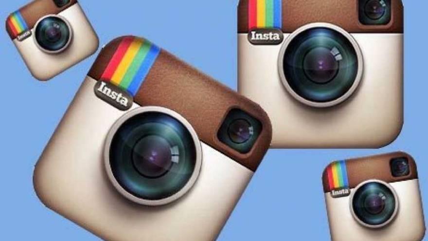 Este fue uno de los logos de Instagram