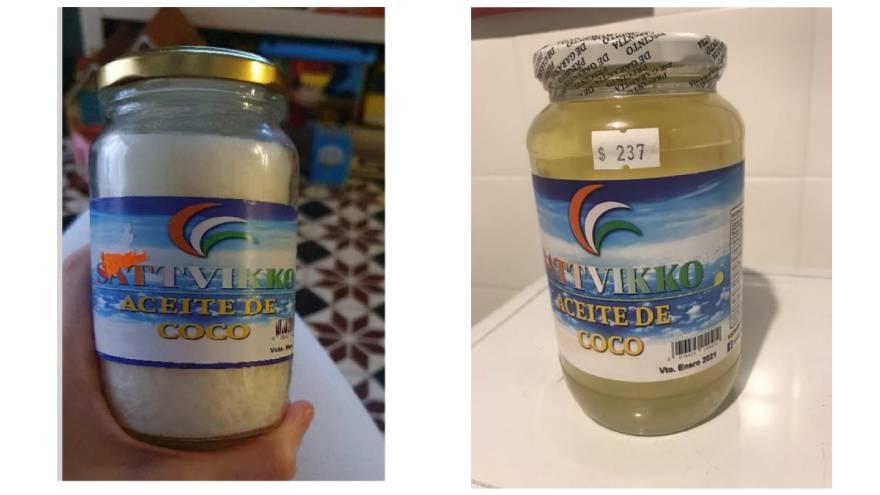 Este es el aceite de coco que prohibió ANMAT