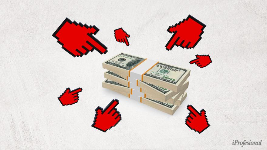 La venta de dólar solidario o