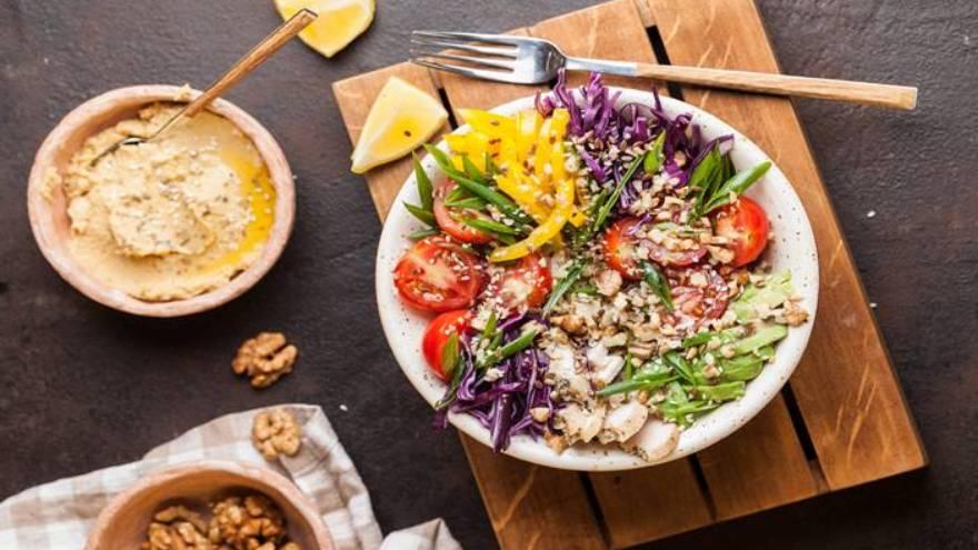 Se aconseja incluir vegetales en la alimentación