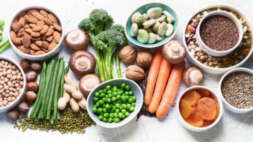 Es importante incluir una gran cantidad de vegetales en la alimentación