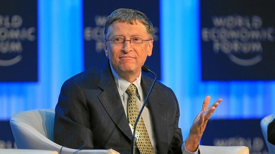 Bill Gates es un blanco tradicional de los conspiranoicos.