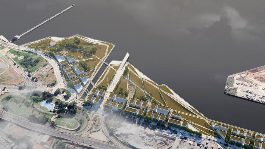Santoro criticó el proyecto para urbanizar Costa Salguero