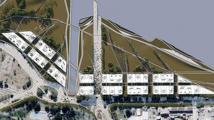 El proyecto para el futuro barrio náutico comprende construcciones que albergarían a unas 1.000 familias.