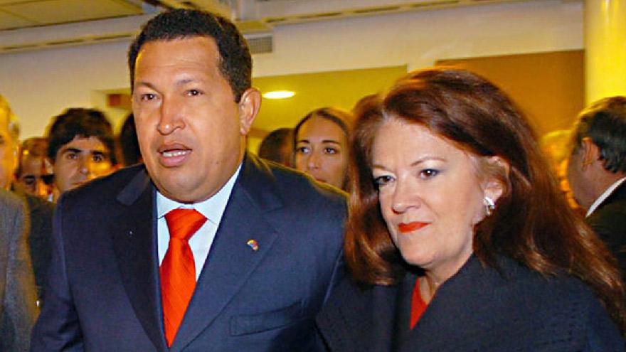 Alicia Castro tenía una gran amistad con Hugo Chavez
