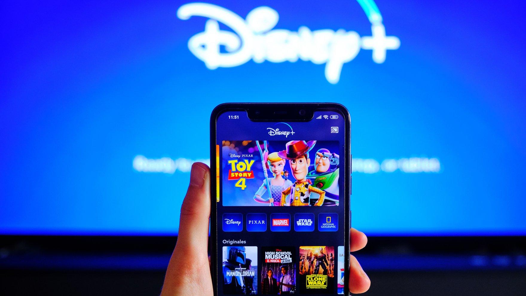 Disney+ es la plataforma donde se estrenó WandaVision