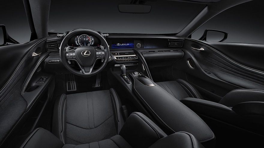 Así es por dentro el nuevo coupé de Lexus.