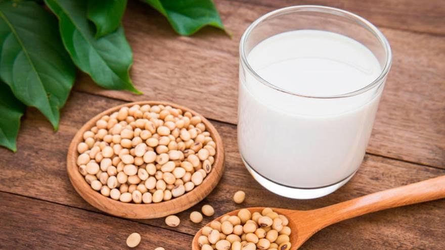 La leche de soja es una de las variedades que existen