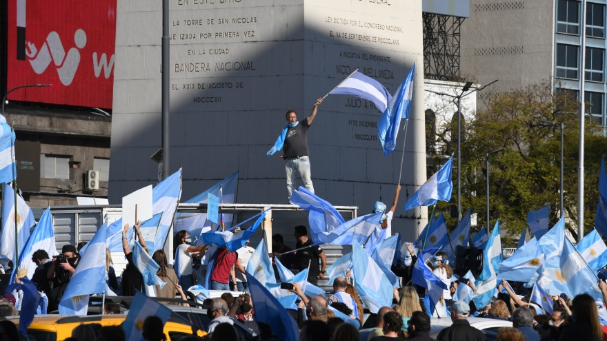 Banderazo 8N: Juntos por el Cambio se coloca a la cabeza de la nueva convocatoria.