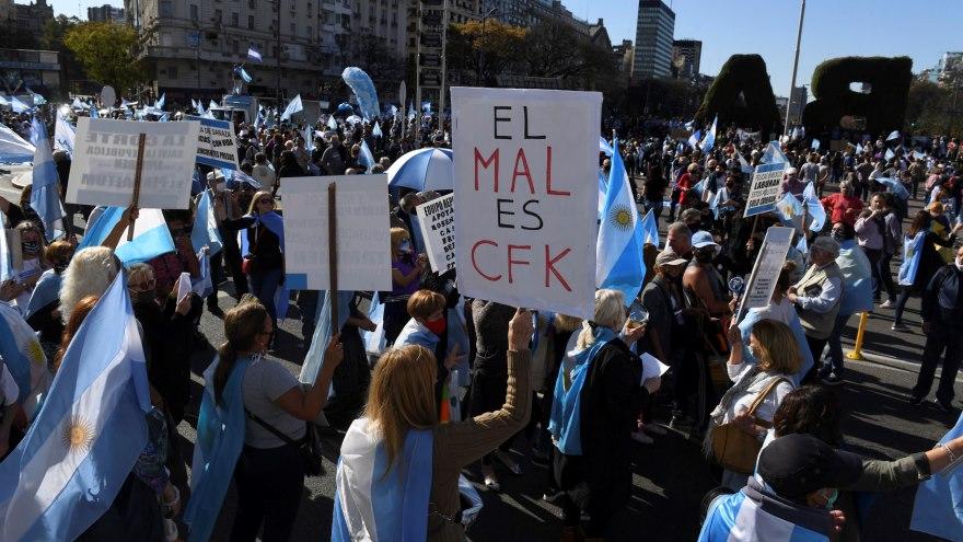 La última marcha opositora tuvo lugar el 12 de octubre del año pasado