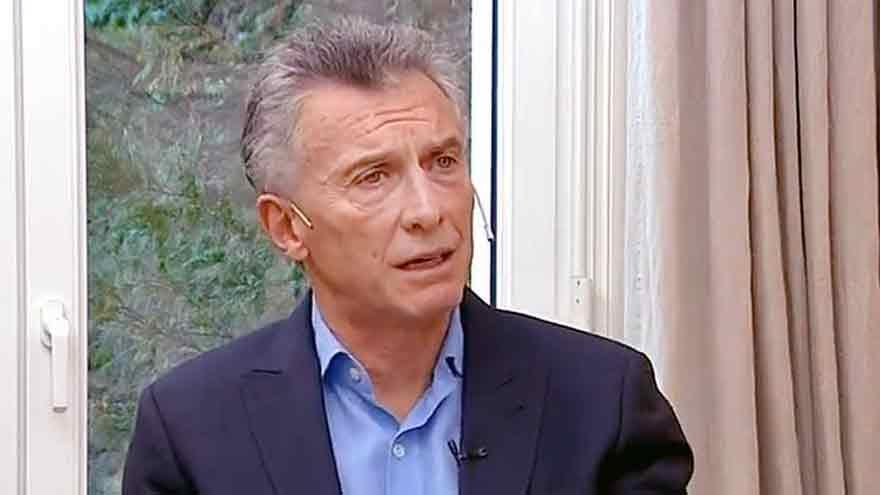 Fernández apuntó contra los dichos de Macri en una entrevista difundida el lunes.