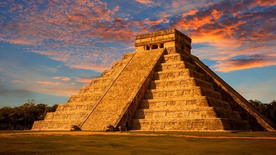 Los mayas construyeron una pirámide con la que marcaban el solsticio de verano