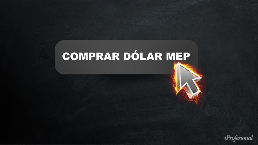 El dólar Mep sigue debajo del dólar solidario