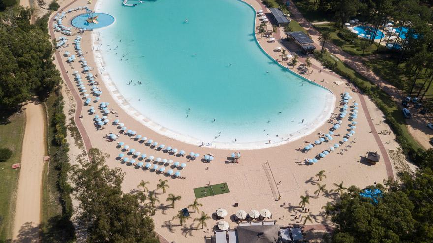 Solanas Crystal Beach, un espacio inigualable del complejo.