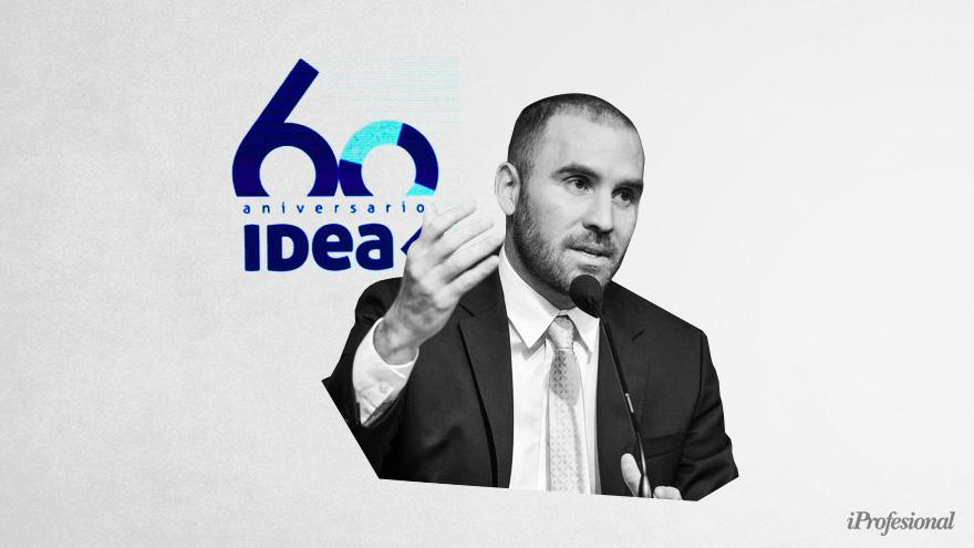 Guzmán reconoció en el coloquio de IDEA que la brecha alta deteriora las expectativas