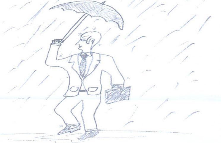 El test psicológico de la persona bajo la lluvia que te va a dejar pensando