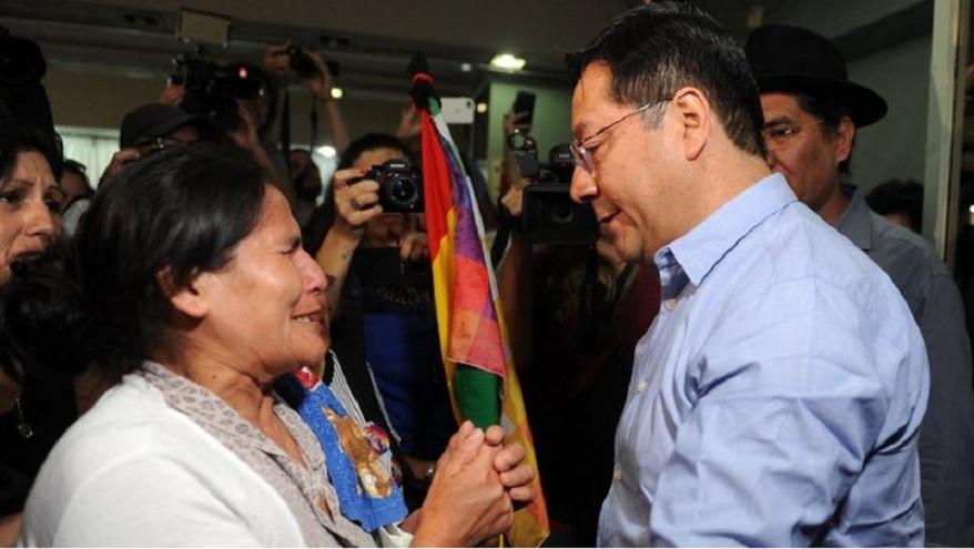 Arce acompañó a Evo Morales durante la mayor parte de su gobierno