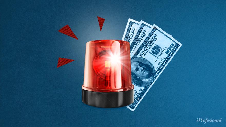 Una suba en el precio del dólar afectaría en una baja inmediata a las cotizaciones de las acciones.