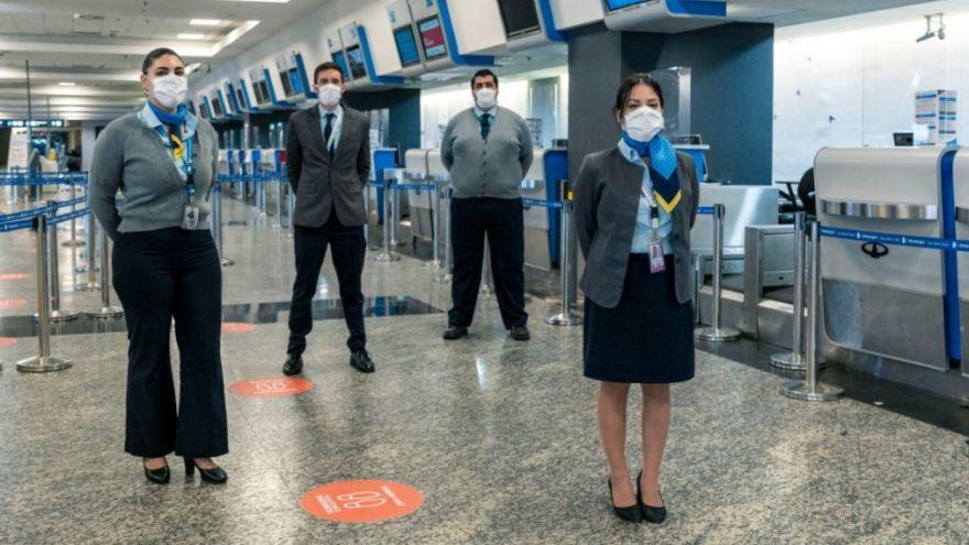 Los protocolos que estableció Aerolíneas Argentinas para el regreso de los vuelos