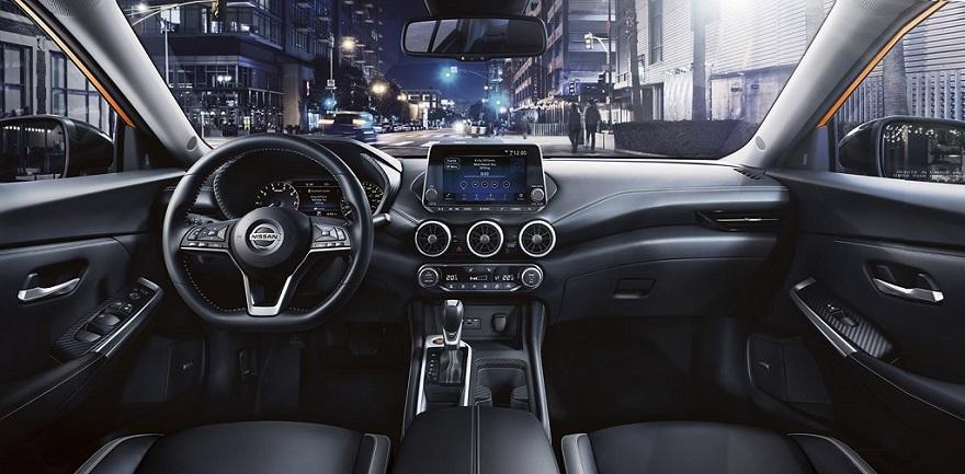 Nuevo Nissan Sentra, así es por dentro.